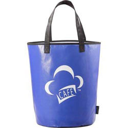 Custom imprinted Laminated Non-Woven Basket Tote