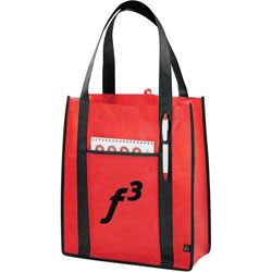 Custom imprinted PolyPro Contrast Carry-All Tote