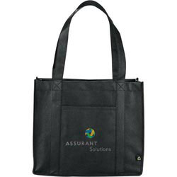 Custom imprinted PolyPro Compartment Tote