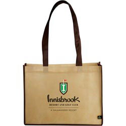Custom imprinted PolyPro Small Shopper Tote