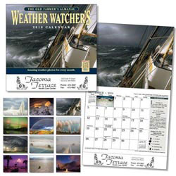 Custom imprinted Old Farmer's Almanac Weather Watcher's Ca