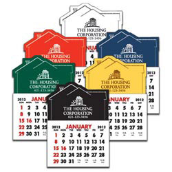 Custom imprinted House Vinyl Adhesive Calendar