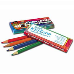 Custom imprinted Color-Brite Colored Pencils