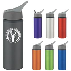 Custom imprinted 25 Oz. Aluminum Bike Bottle