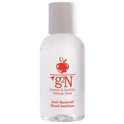 Custom imprinted 2 Oz. Hand Sanitizer Gel