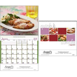 Custom imprinted Quick & Simple Recipes Wall Calendar