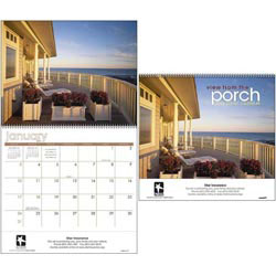 Custom imprinted View from the Porch Calendar
