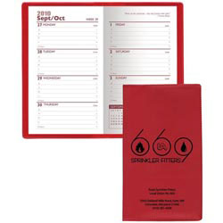 Custom imprinted Weekly Pocket Planner