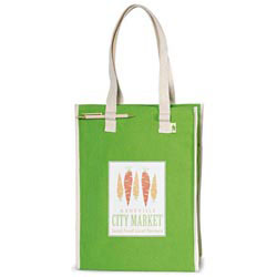 Custom imprinted Recycled Cotton Market Bag
