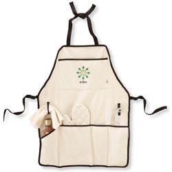 Custom imprinted Recycled Cotton Apron Kit