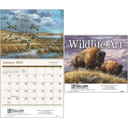 Custom imprinted Wildlife Art Calendar