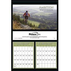 Custom imprinted Sports Motivation Calendar