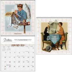 Custom imprinted Saturday Evening Post Wall Calendar