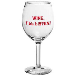 Custom imprinted 11 Oz. Wine Glass