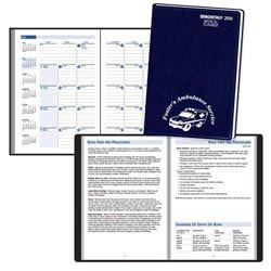 Custom imprinted Monthly Medical Planner