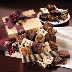 Custom imprinted Gourmet Brownie Assortment - One Dozen