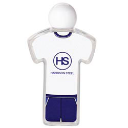 Custom imprinted Tee Design Uniform Hand Sanitizer
