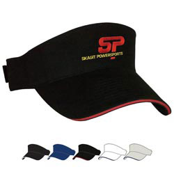Custom imprinted Sandwich Visor- Screen Printed