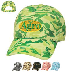 Custom imprinted Camouflage Cap-Embroidered