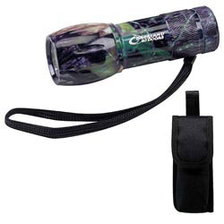Custom imprinted Camouflage Mini Aluminum LED Flashlight