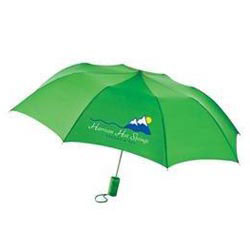 Custom imprinted Barrister Auto-Open Folding Umbrella