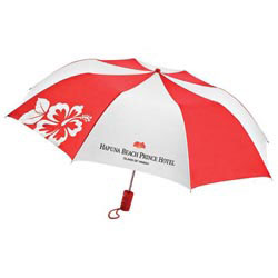 Custom imprinted MonoGraFX Silhouette Auto Open Umbrella