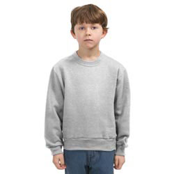 Custom imprinted JERZEES Youth Crewneck Sweatshirt