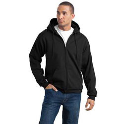 Custom imprinted Port & Company Full-Zip Hooded Sweatshirt