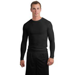 Custom imprinted Sport-Tek Long Sleeve Compression T-Shirt