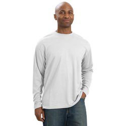 Custom imprinted Sport-Tek Dri-Mesh Long Sleeve T-Shirt