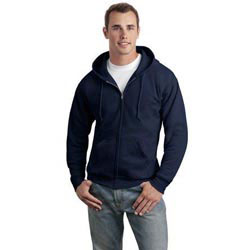 Custom imprinted Hanes ComfortBlend Full-Zip Hooded Sweatshirt