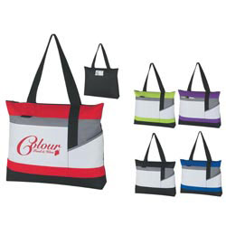 Custom imprinted Advantage Tote Bag