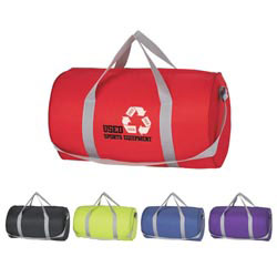 Custom imprinted Budget Duffle Bag