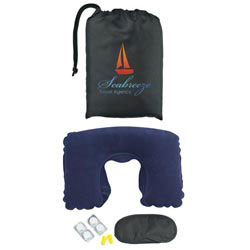 Custom imprinted Travel Comfort Kit