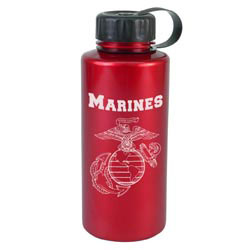 Custom imprinted 36 Oz. ShimmerZ Mountain Bottle