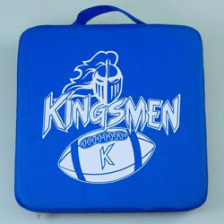 Custom imprinted Fabric Stadium Cushion