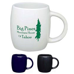 Custom imprinted 16 Oz. Sleek Barrel Mug
