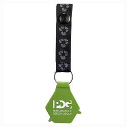 Custom imprinted CLOSEOUT Loop Key Tag
