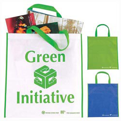 Custom imprinted Eco Non-Woven Tote