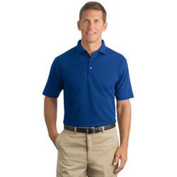 Custom imprinted CornerStone  Industrial Pocketless Pique Polo