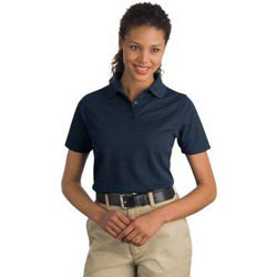 Custom imprinted CornerStone Ladies Industrial Pique Polo