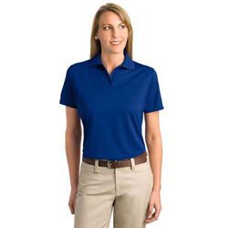 Custom imprinted Port Authority Ladies Bamboo Pique Sport Shirt
