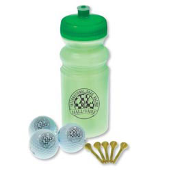 Custom imprinted Eco Golf Kit