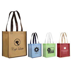 Custom imprinted Scented Non-Woven Small Tote Bag