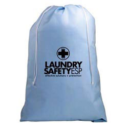 Custom imprinted Scented Non-Woven Laundry Bag