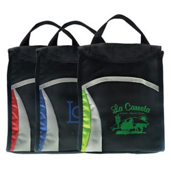 Custom imprinted Wave Lunch Sack