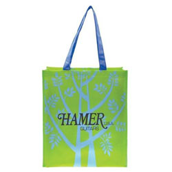 Custom imprinted Laminate Design Tote