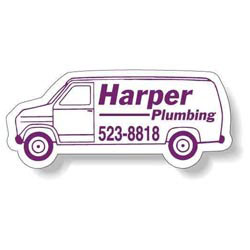 Custom imprinted Van Shape Magnet