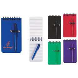 Custom imprinted Spiral Jotter & Pen Set