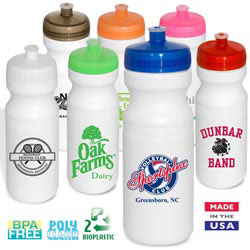 Custom imprinted 24 Oz. Big Eco Safe-Sip Water Bottle